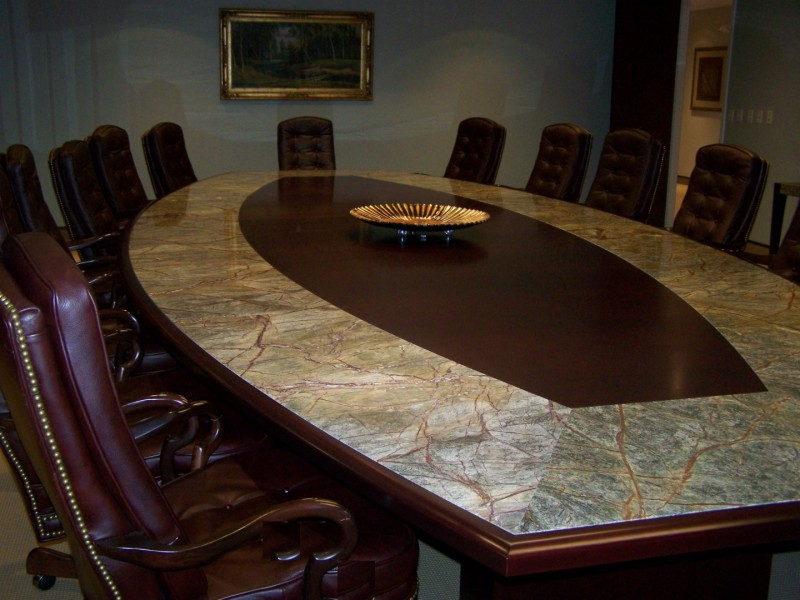 Custom Executive Boardroom Table