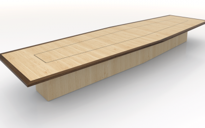 Maple Boardroom table, Built to Suit